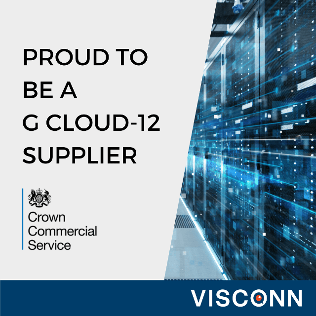 Visconn proud to be a G Cloud-12 Supplier